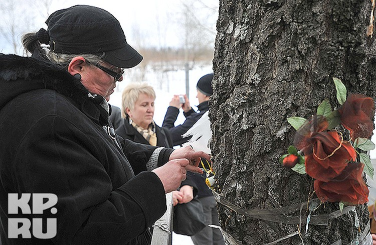 Предполагается, что именно в этом месте было найдено тело Леха Качиньского