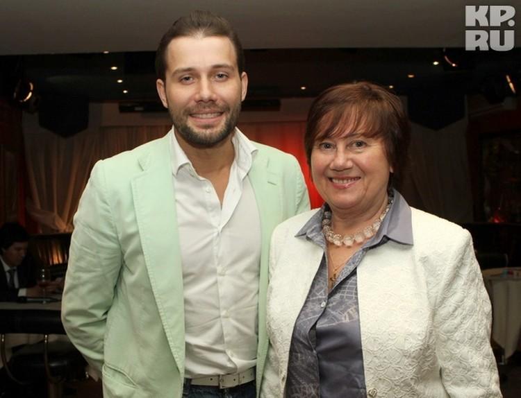 Даниил Федоров с мамой