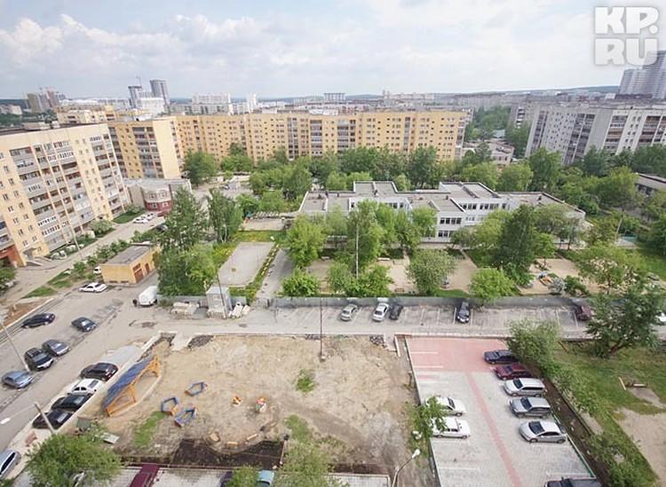 Двор Ольги Васильевны