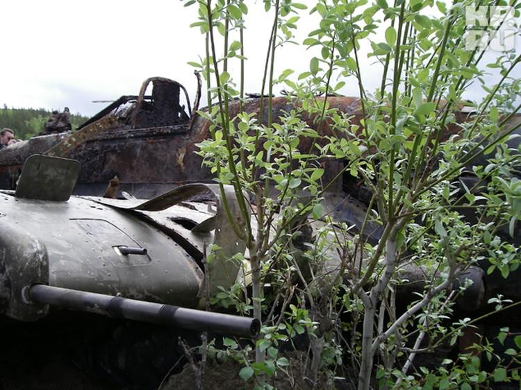 В пулемете Владимира Гуменного остался один патрон.