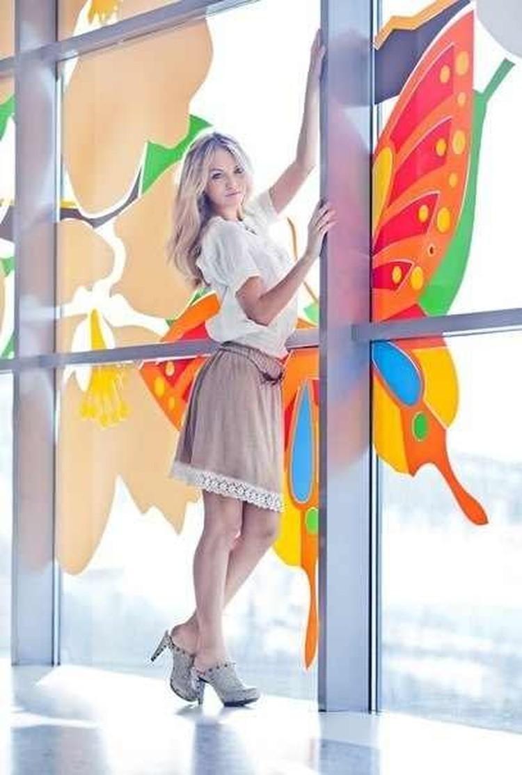 """Эот снимок Галины был размещен в официальной группе конкурса """"Краса России-2012"""" в социальных сетях. Правда, мило?"""