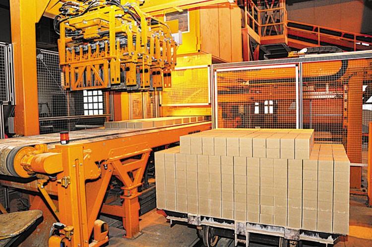 Производство силикатного кирпича.