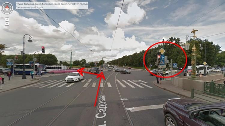 """Водитель """"Мерседеса"""" проигнорировал дорожный знак и повернул налево. За перекрестком его остановил инспектор."""