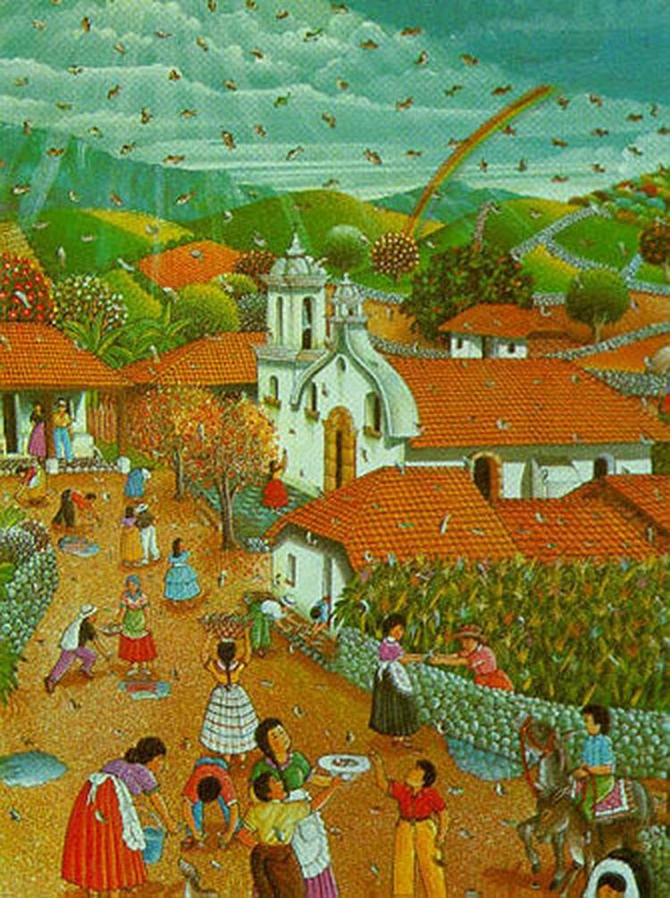 Рыбный дождь по молитвам отца Субирана выпадает в Гондурасе уже более 100 лет.