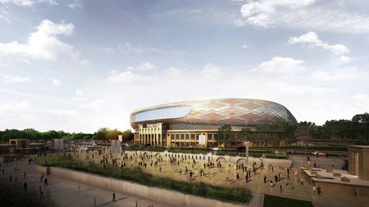 """Так будет выглядеть стадион """"Динамо"""" после реконструкции."""