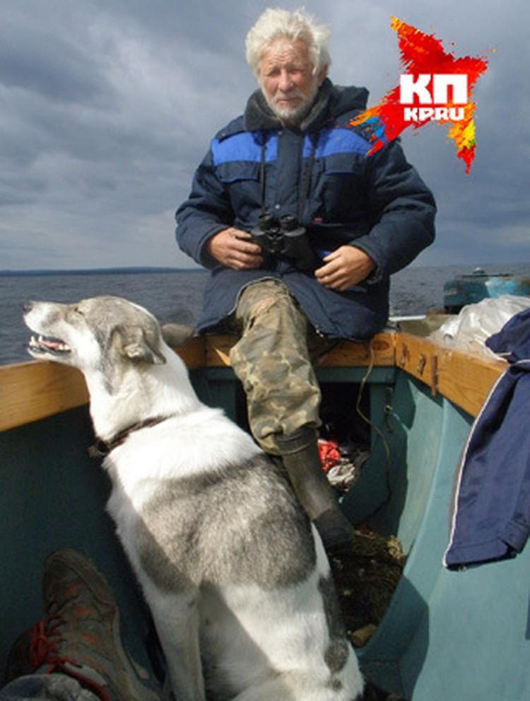 Вместе с Денисом в плавание отправился и лодочный мастер из города Бора Николай Позднышев.