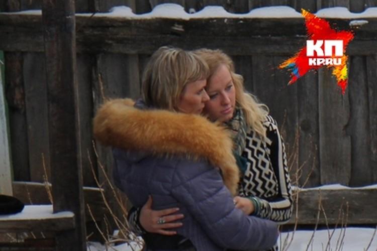 Джессика Лонг встретилась в Тэми с родной матерью.