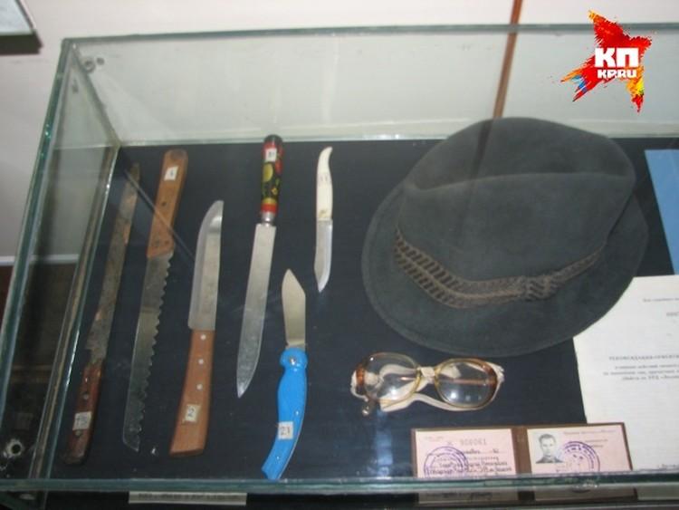 В музее донской полиции хранятся ножи маньяка