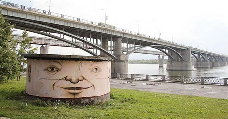 Новосибирск. Прибрежный житель.