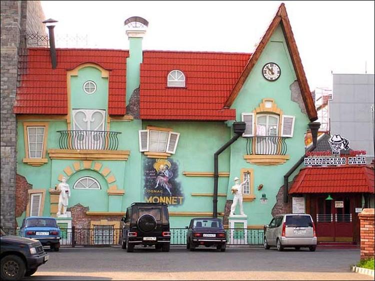 Красноярск. Ночной клуб «Колорадский папа».