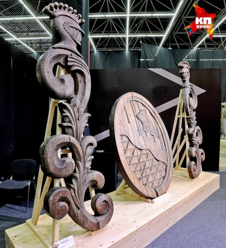 Герб Строгановых был найден в Добрянке.