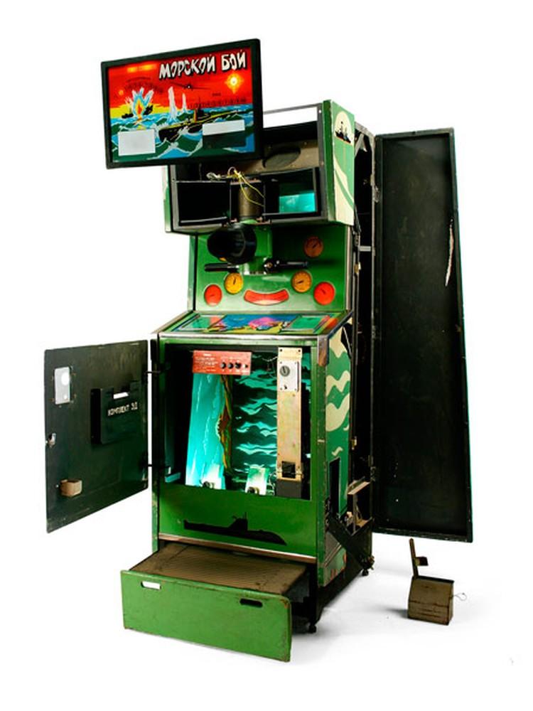 Москва. Музей советских игровых автоматов.