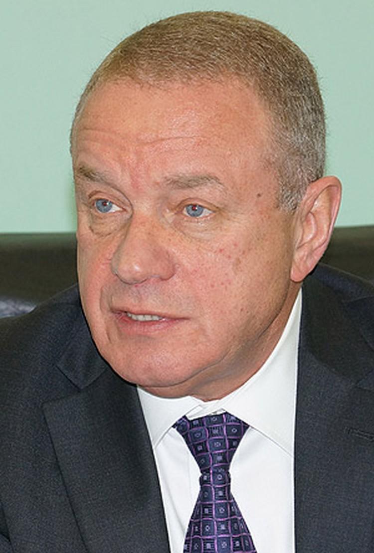 Генеральный конструктор ракетно-космической корпорации «Энергия» Виталий Лопота.