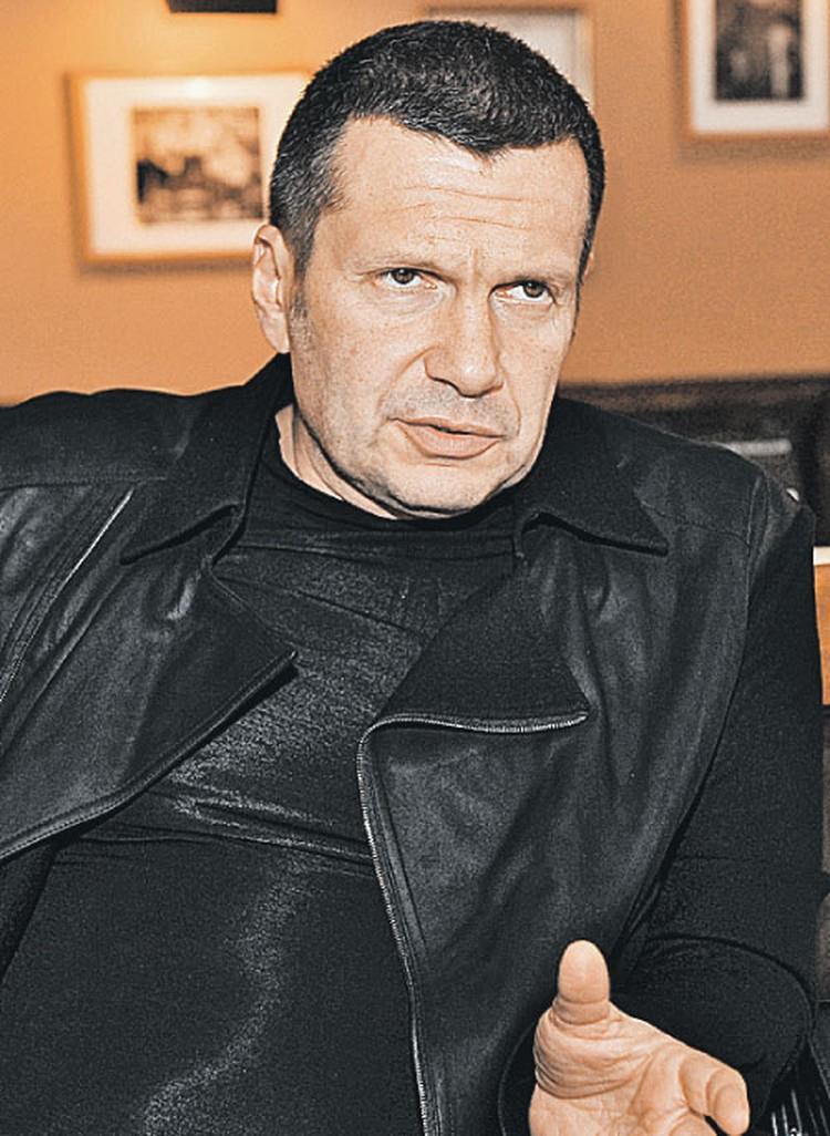 - Надо не спорить  о санкциях, а строить такую страну,  к которой нельзя применить никакие санкции, - считает Владимир Соловьев.