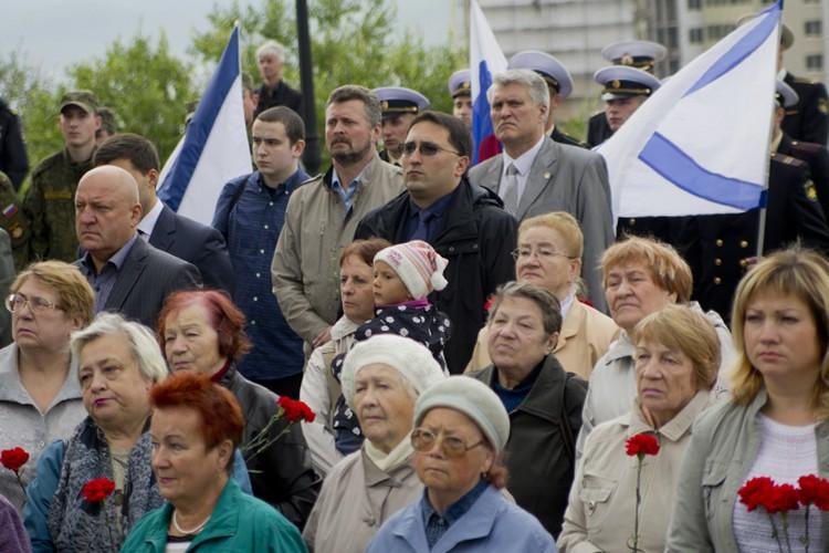Митинг памяти собрал более сотни северян