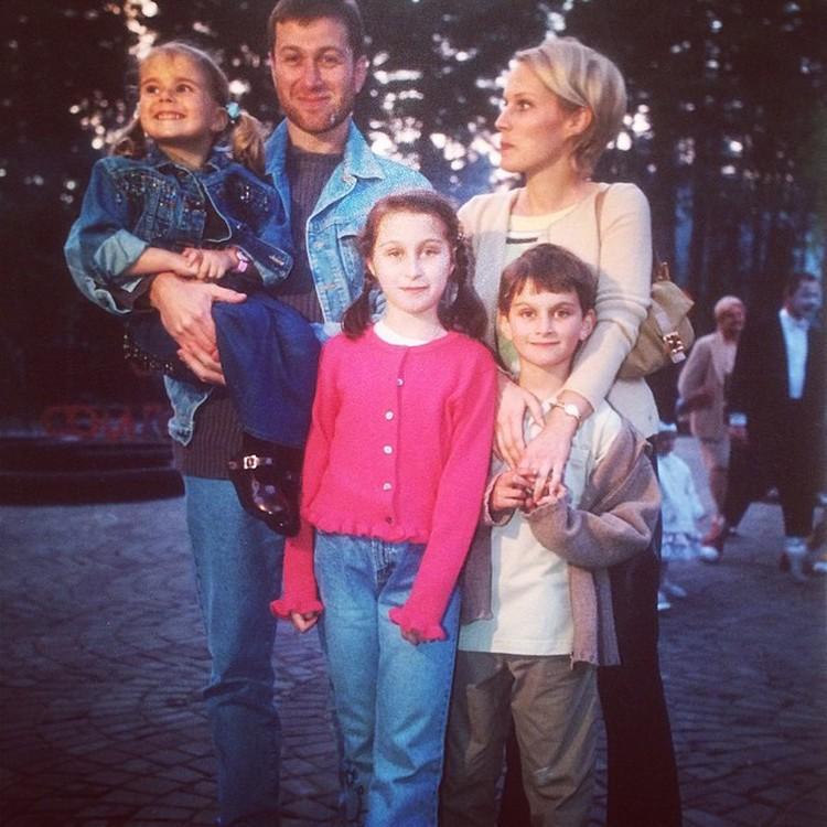 Роман и Ирина Абрамович некогда были вполне счастливой семьей. Фото: Instagram