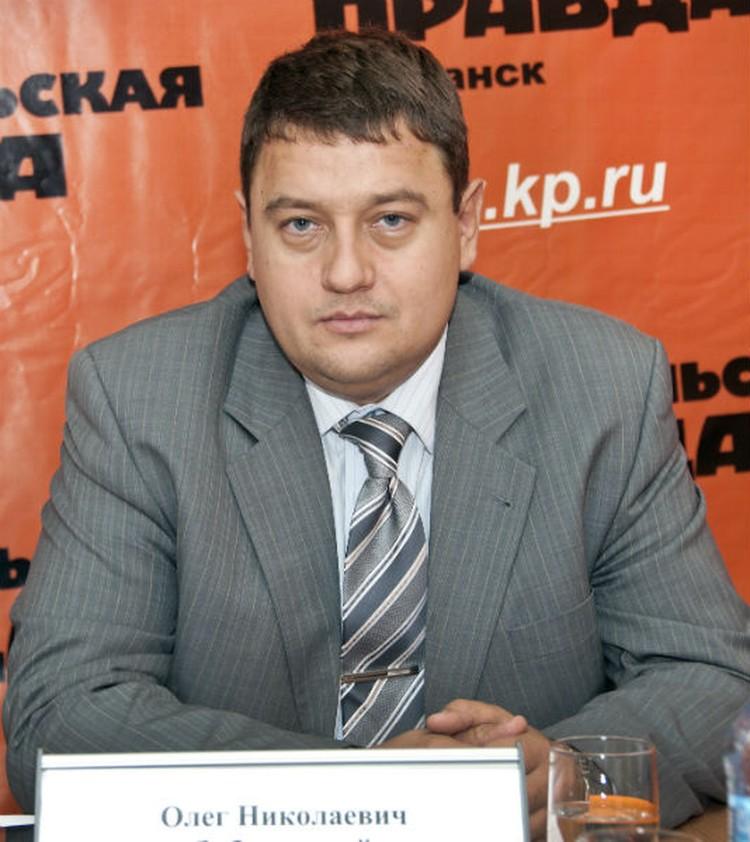 Олег Заболотский, председатель комитета по рыбохозяйственному комплексу Мурманской области