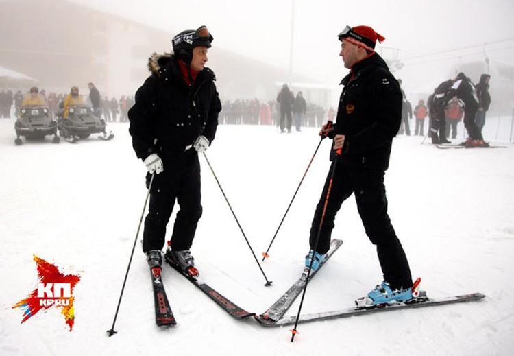 Премьер новогодние праздники традиционно проводит в Сочи