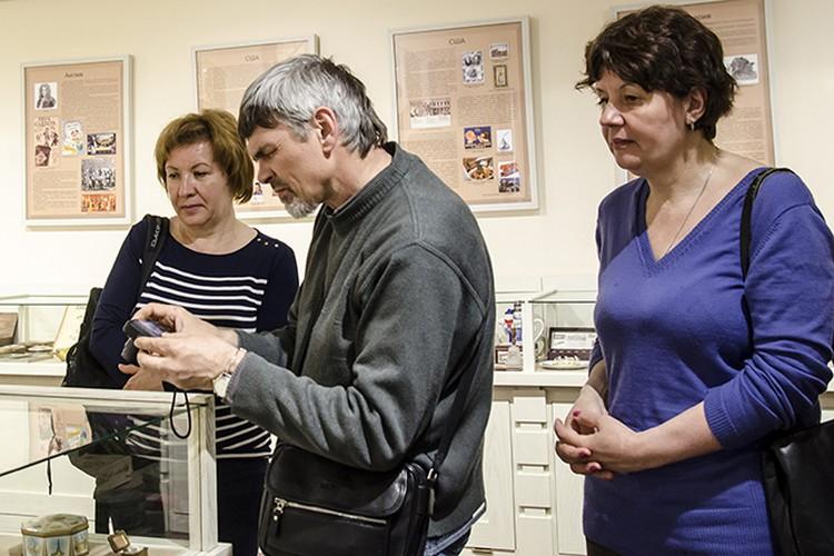 Участники пленэра с интересом посмотрели экспозиции центра «На Спасской».