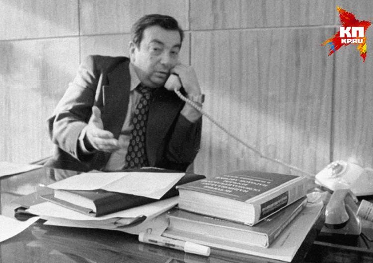 """В интервью корреспонденту """"Комсомолки"""" открылась малоизвестная подробность ушедшего из жизни экс-главы правительства России"""