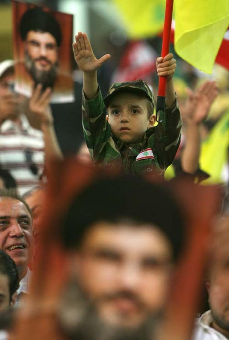 Церемония, посвященная 10-й годовщине вывода израильских войск из Южного Ливана.