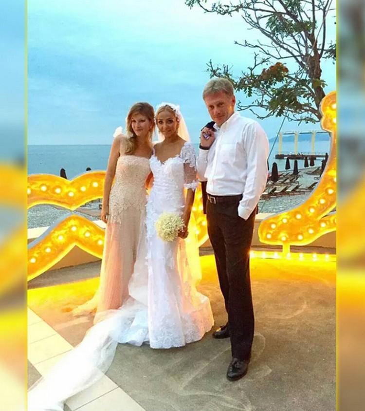Дмитрий Песков, Татьяна Навка и жена Олега Митволя