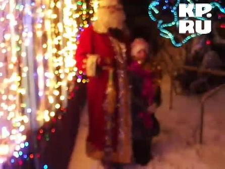 Принудил снегурочку видео