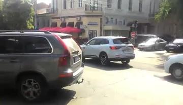 Пробки в Кишиневе 14 июня