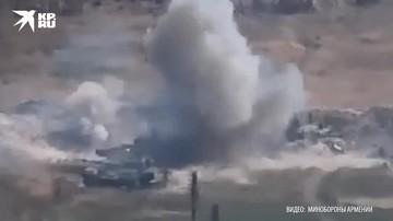Уничтожение азербайджанских танков T-72