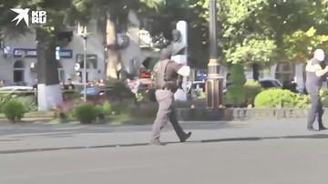 Мужчина захватил заложников в банке в грузинском Зугдиди