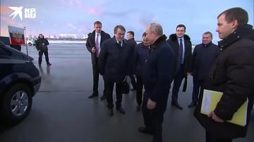Владимир Путин прибыл с рабочим визитом в Нижегородскую область.