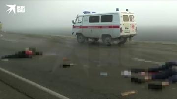 ДТП с шестью погибшими на Кубани