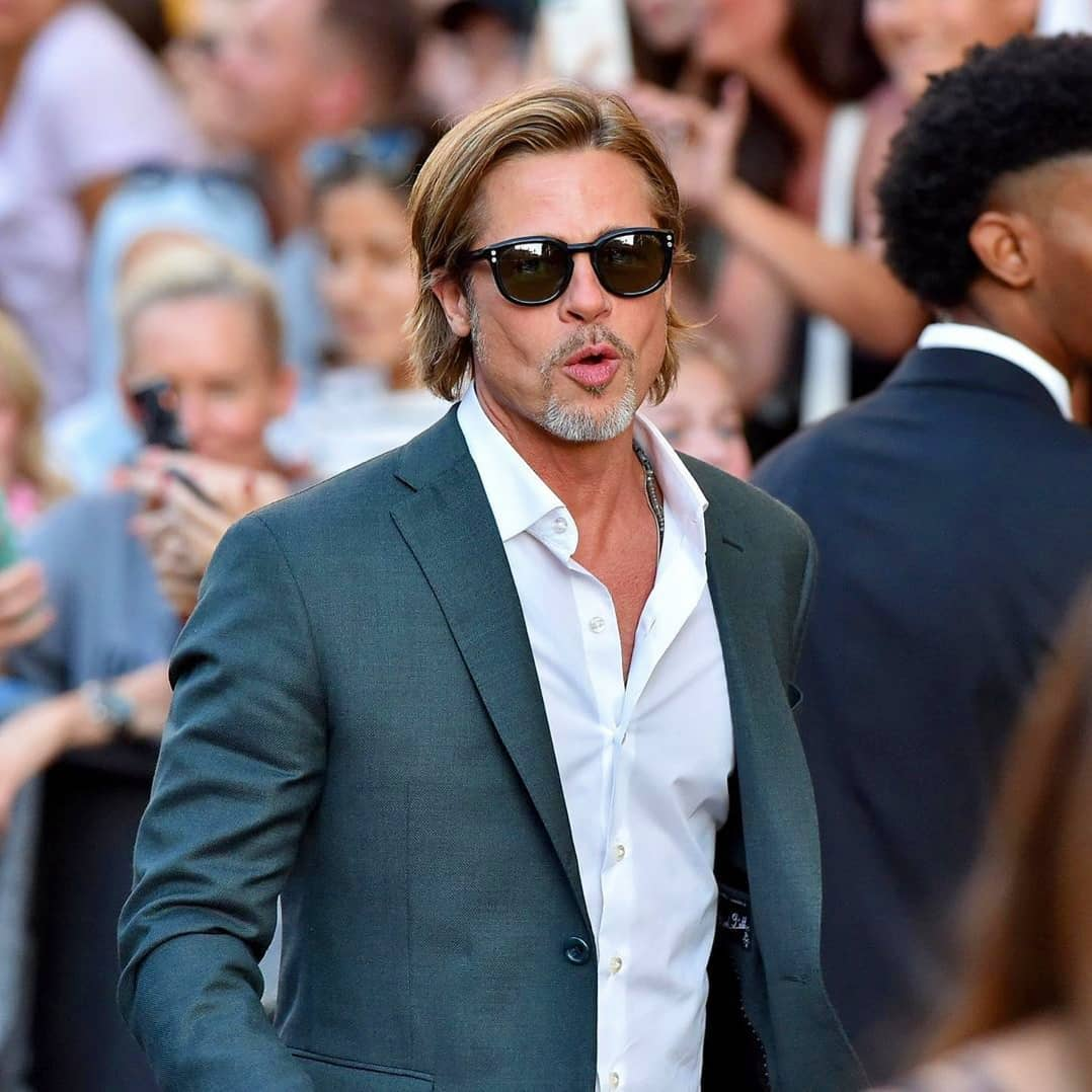 Brad Pitt at @onceinhollywood movie Premiere in Los Angeles 22th July