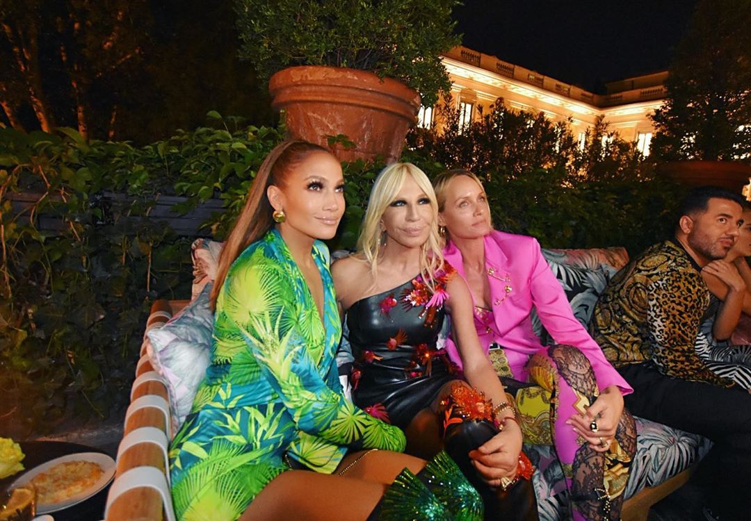 На Неделе моды в Милане Лопес превзошла саму себя