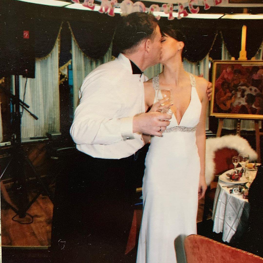 Осенний поцелуй после 19 лет совместной жизни. Венчание, 2009 год