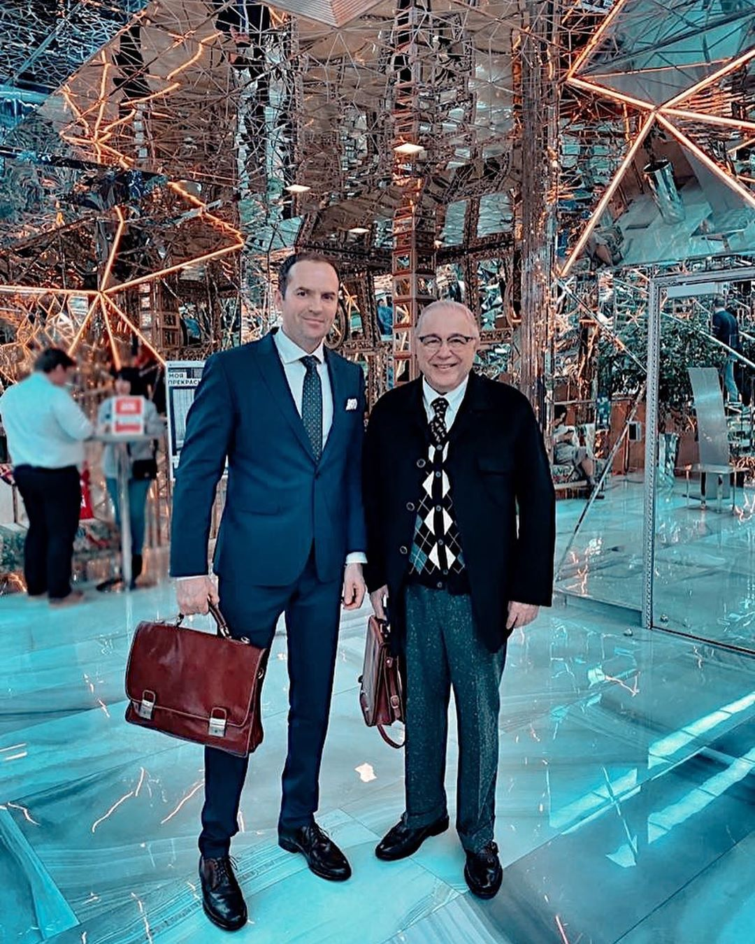 Евгений Петросян и адвокат Сергей Жорин