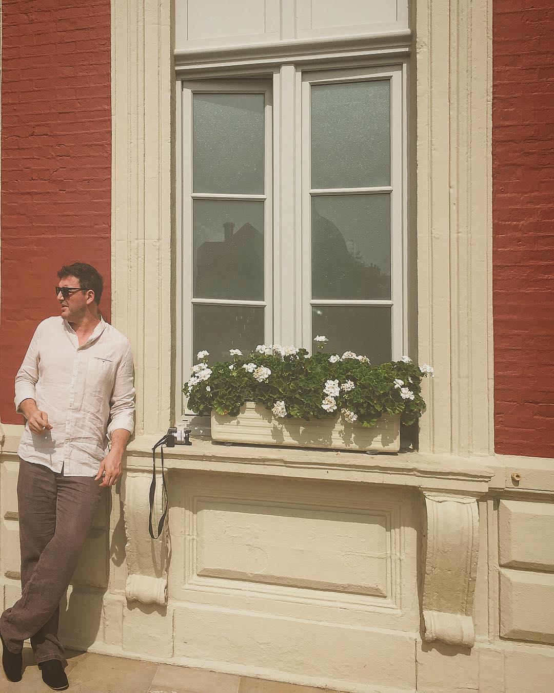 Мой самый любимый и родной. Человек ,который не просто терпит всех моих разномастных тараканов,но еще и нежно их любит и дрессирует:) @mvitorgan #hoteldupalais #biarritz