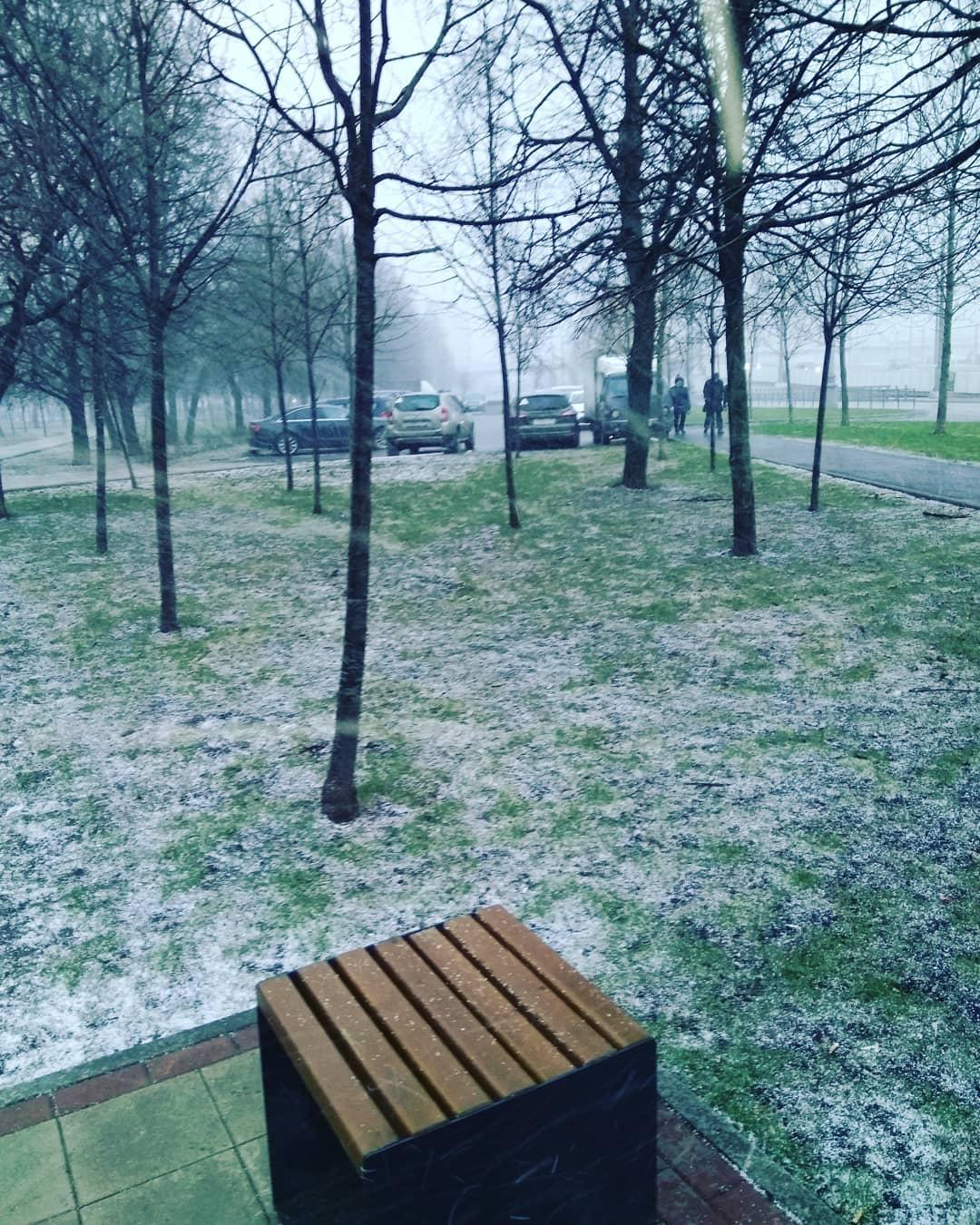 #москва #снег #снегопад