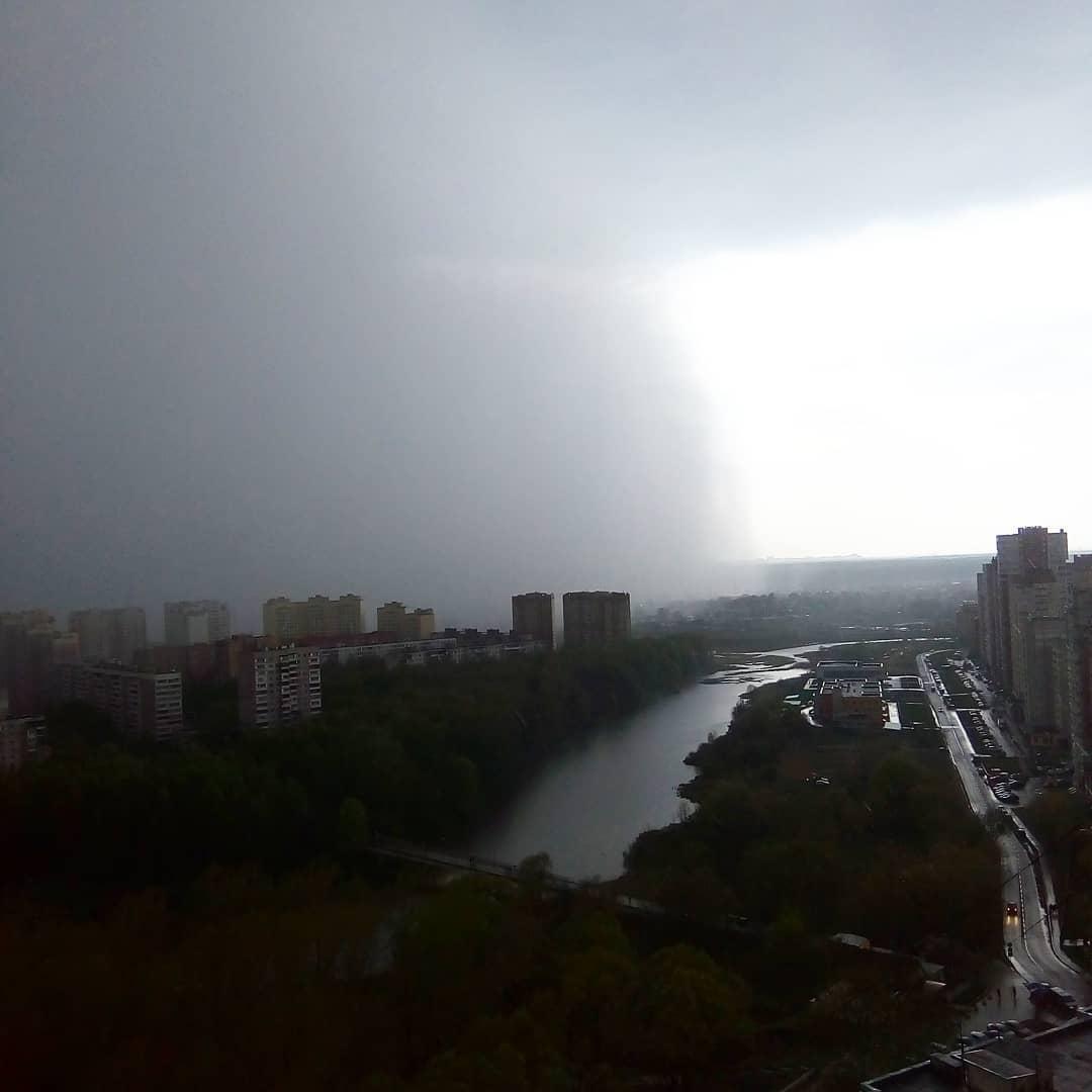 Надвигается шторм #дождь #гроза #ливень