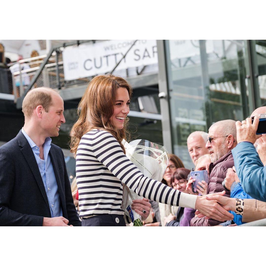 """Уильям и Кейт сделали аявление по поводу появления на свет племянника во время объявления старта парусной регаты """"Королевский кубок"""""""