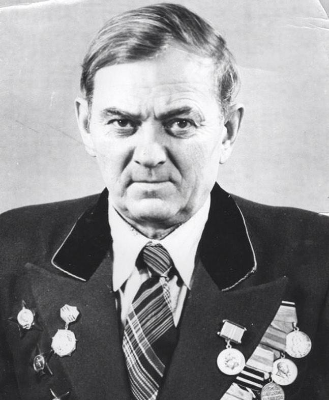 Мой отец, Маликов Федор Михайлович. Прошёл всю войну...
