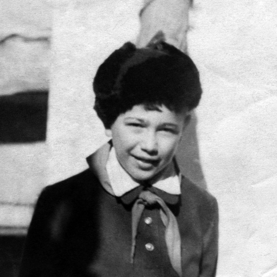 1955 год. Пионер Женя