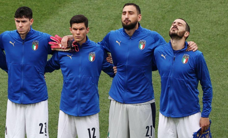 Футболисты сборной Италии бьют рекорды на Евро. Фото: Reuters