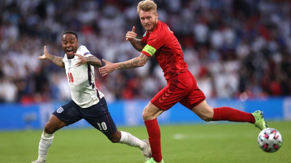 Англия - Дания полуфинал Евро