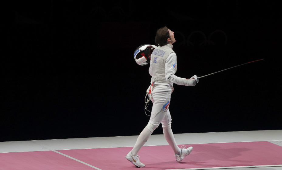 Российская рапиристка Инна Дериглазова потеряла тренера. Фото: Reuters