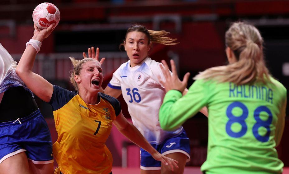 Российские гандболистки не справились с шведками. Фото: Reuters