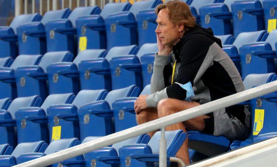 Валерий Карпин думает о том, как обустроить сборную России. Фото: ТАСС