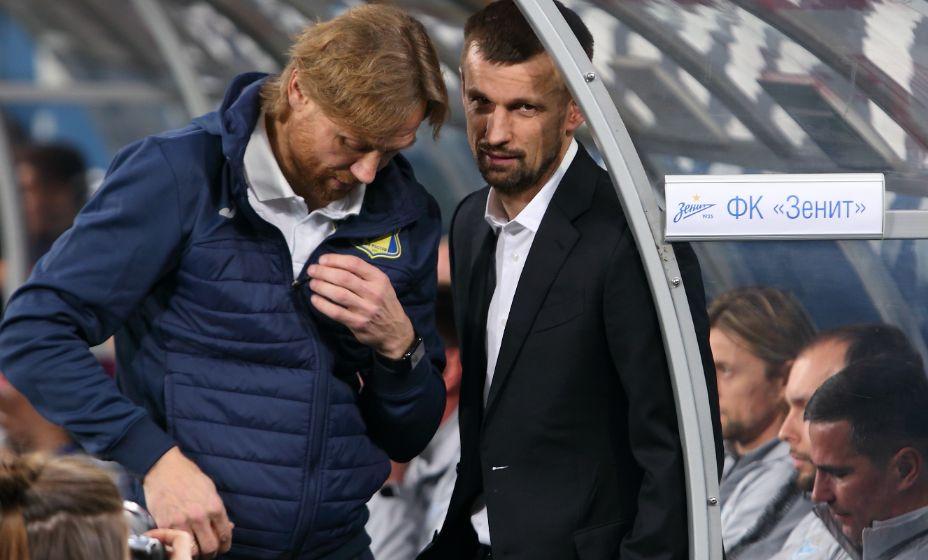 Валерий Карпин и Сергей Семак тоже поучаствовали в позоре России в еврокубках. Фото: Reuters