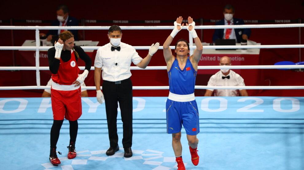 Зенфира Магомедалиева - бокс - Олимпиада