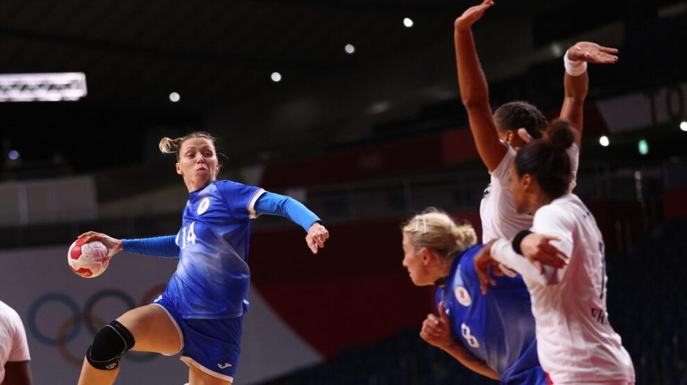 Россия - Франция - гандбол - Олимпиада